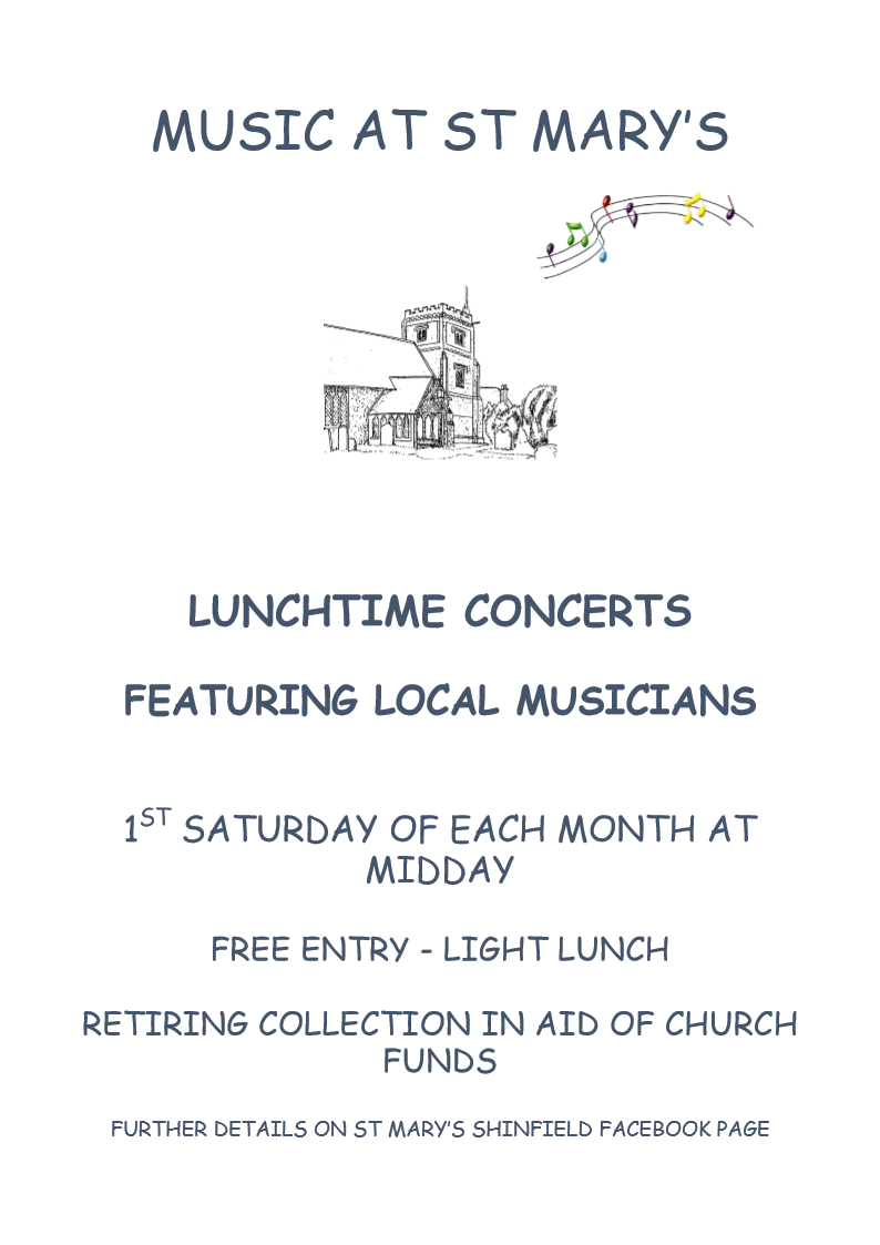Lunchtime Music at St Marys March18